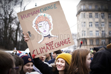 POLAND-WARSAW-MARCH-CLIMATE CHANGE