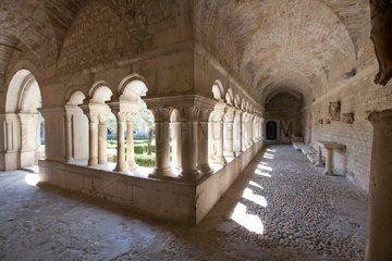 Vaison-la-Romaine  Frankreich  das Kloster Notre-Dame de Nazareth