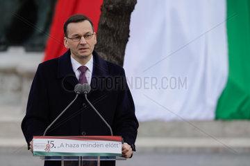 HUNGARY-BUDAPEST-NATIONAL DAY