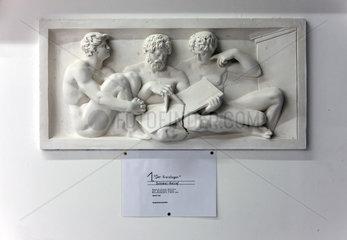 Berlin  Deutschland  Replik eines Reliefs der Schinkelschen Bauakademie