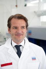 Hilden  Deutschland  Peer M. Schatz  CEO vom Biotech-Unternehmen Qiagen
