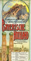 Localbahn AG  Muenchen  Werbung  1898