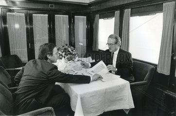 Johannes Rau  SPD-Kanzlerkandidat  1987  Wolfgang Clement