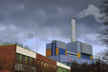 Deutschland  Nordrhein-Westfalen- Muellverbrennungsanlage Oberhausen