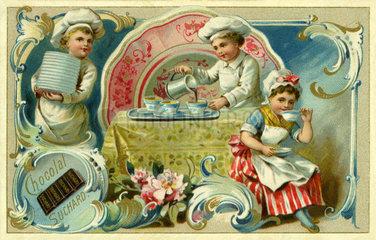 Suchard Kakao  Werbebild  1899