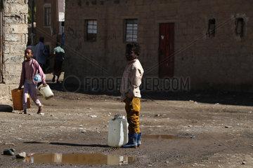 YEMEN-SANAA-CHOLERA-SEWAGE-WATER CRISIS