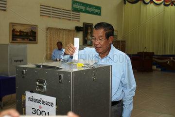 CAMBODIA-PHNOM PENH-SENATE-VOTE