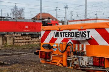 Neuseddin  Deutschland  Deutsche Bahn Wintervorbereitung