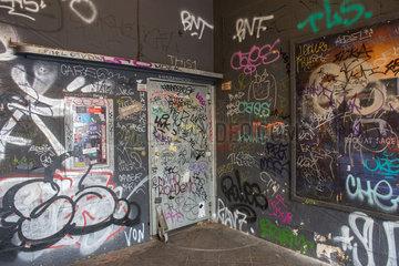 Berlin  Deutschland  Eingangsbereich des Sage-Club