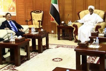 SUDAN-KHARTOUM-U.S. DELEGATION-TALKS