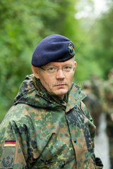 Illkirch-Grafenstaden  Frankreich  Oberstleutnant Fabian Schneider  Kommandeur des JgBtl 291