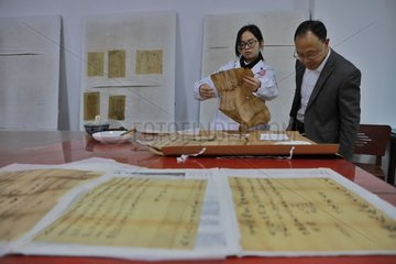 CHINA-GUIZHOU-JINPING-ANCIENT DOCUMENTS (CN)