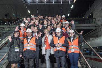 Bahn-Mitarbeiter (innen)