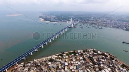 CHINA-HAINAN-HAIWEN BRIDGE-OFFICIAL OPERATION (CN)