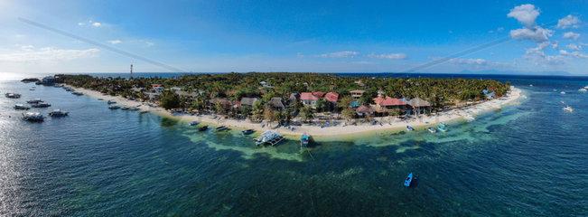 Malapascua Island - Drohnenaufnahme