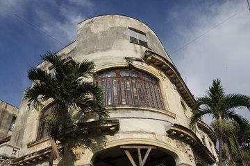 Baufaellig Gebaeude im Havanna