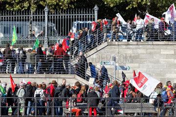Berlin  Deutschland  Demonstration gegen TTIP