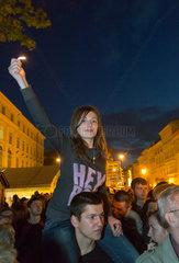 Lemberg  Ukraine  Stadtfest am Stary Rynok