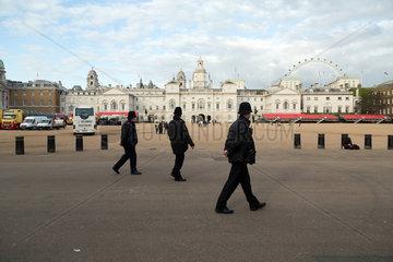 London  Grossbritannien  Blick ueber den Horse Guards Parade