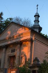 Lemberg  Ukraine  Kapelle auf dem Lytschakiwski-Friedhof
