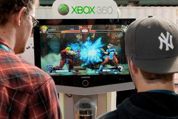 Berlin  Deutschland  kostenlose Spiele an der XBOX 360 auf der Campus Party Europe