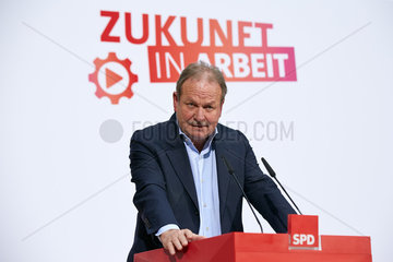 Berlin  Deutschland - Frank Bsirske  Vorsitzender der Gewerkschaft VerDi.