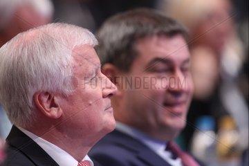 Horst Seehofer und Markus Soeder