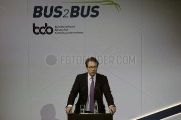 Andreas Scheuer - Teilnahme des Ministers auf der Messe Bus2Bus