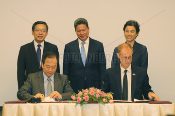 CAMBODIA-PHNOM PENH-UNDP-CHINESE COMPANY-MOU-SIGNING
