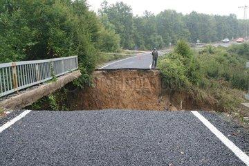 Tuerkei  Tekirdag  Ueberschwemmung