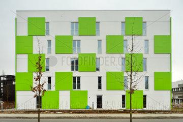 Hamburg  Deutschland  Neubau Smart ist Gruen auf der IBA Hamburg