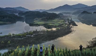 CHINA-HANZHONG-SPRING (CN)