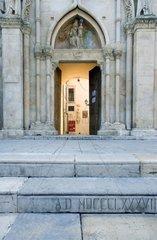 Italy Abruzzo Sulmona  the Annunziata church (XV-XVIII century)
