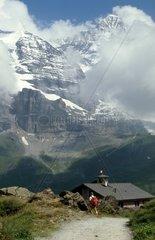 Switzerland  Aletsch  the glacier