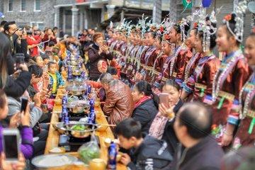 CHINA-GUIZHOU-RONGJIANG-TOURISM-LOCAL CUISINE (CN)