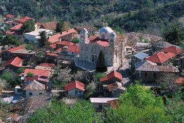 Republik Zypern - Das Dorf Prodromos im Troodos-Gebirge