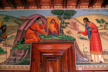 Republik Zypern - Wandmalereien im Kykkos-Kloster