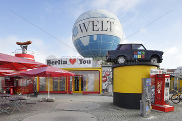 Berlin  Deutschland  Gelaende am Fesselballon Hi-Flyer in Berlin-Mitte