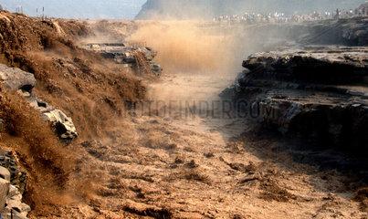 China  Wasserfall Hukou