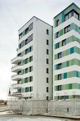 Hamburg  Deutschland  der Neubau WaterHouses auf der IBA Hamburg