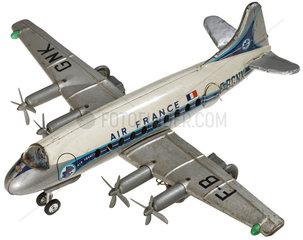 Passagiermaschine der Air France  Spielzeug  1959