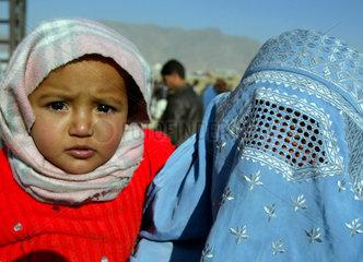 Kabul: Fluechtlingslager