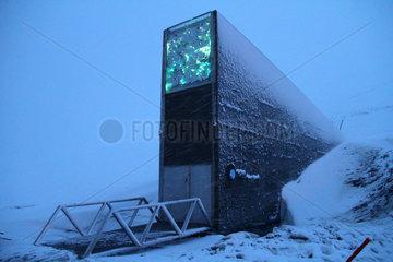 NORWAY-SVALBARD-GLOBAL SEED VAULT