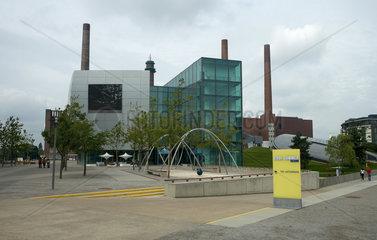 Wolfsburg  Deutschland  das Zeithaus in der Autostadt