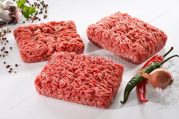 Riedlingen  Deutschland  Hackfleisch