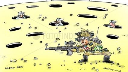 Krieg in Afghanistan wo ist Bin Laden