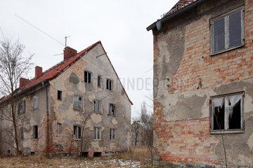 Zossen  Deutschland  verlassene Gebaeude auf dem ehemaligen Kasernengelaende der Sowjetarmee