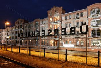 Bremen  Deutschland  Speicher XI im Ueberseehafen  Entwicklungsgebiet Ueberseestadt