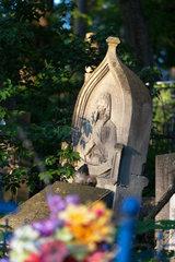 Lemberg  Ukraine  polnisches Grab auf dem Lytschakiwski-Friedhof