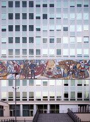 Berlin  Deutschland  das Haus des Lehrers am Alexanderplatz